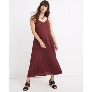 NWT Madewell Cami Maxi Dress Size 0